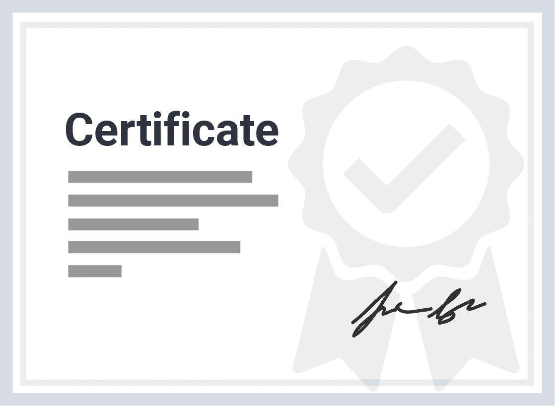 View a PDF of a sample edX certificate