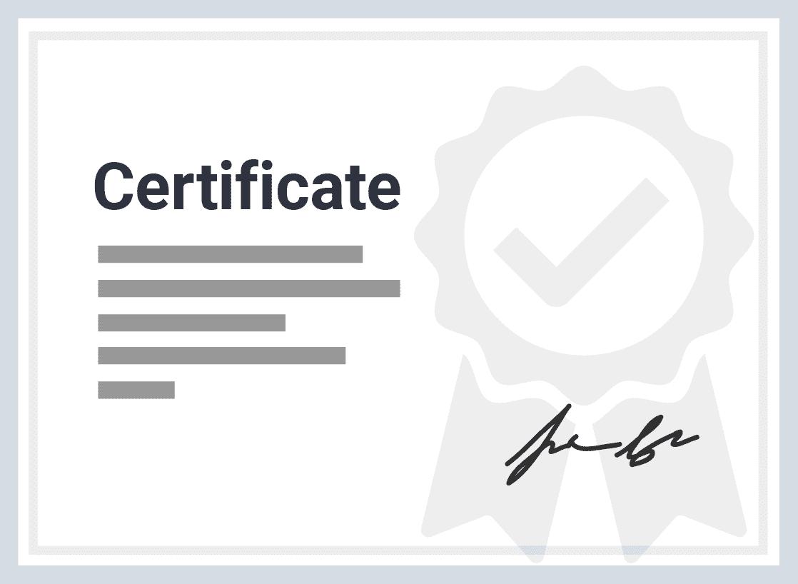 Ver un modelo de certificado de edX en PDF