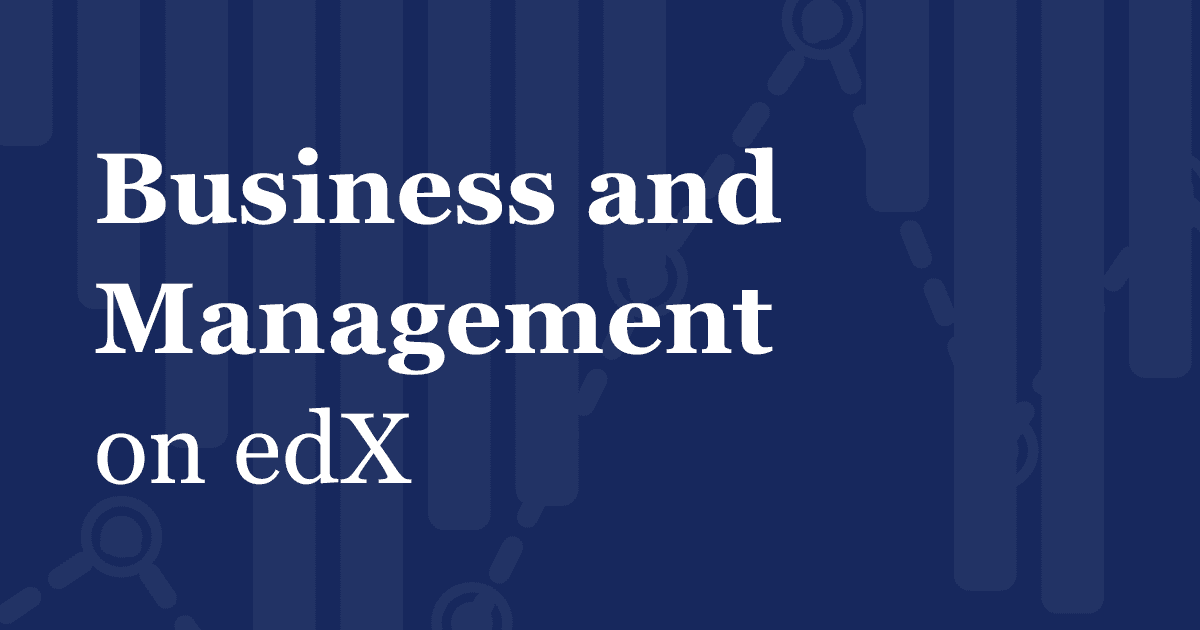 Business: Online Courses from Harvard, MIT, Microsoft | edX